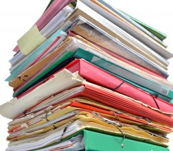 Image of a stack of folders