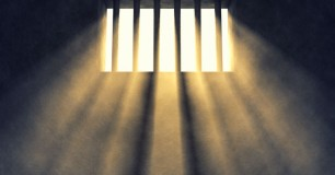 Image - sunlight through window with bars