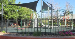 Outside play aparatus for visiting and resident children at Boronia Pre-release Centre for Women