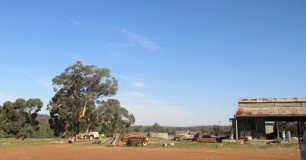 Wooroloo farm shed