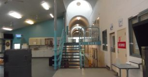 Image of A unit wing at Greenough Regional Prison