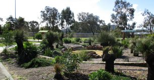 Image of the gardens at Wandoo
