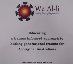 Image of front cover of We Al-li Report