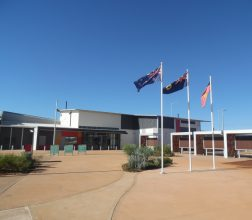 Image of the entrace to Eastern Goldfields Regional Prison