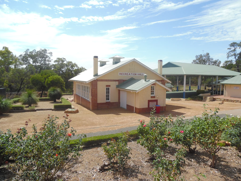 Image of the Recreation Hall and Gymnasium at Wooroloo